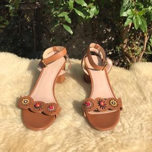 TORY BURCH🍂Marguerite sandals Sz 7.5